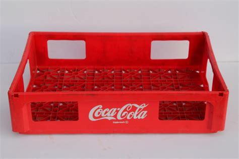 Vintage plastic Coca Cola bottle carrier crate, Diet Coke
