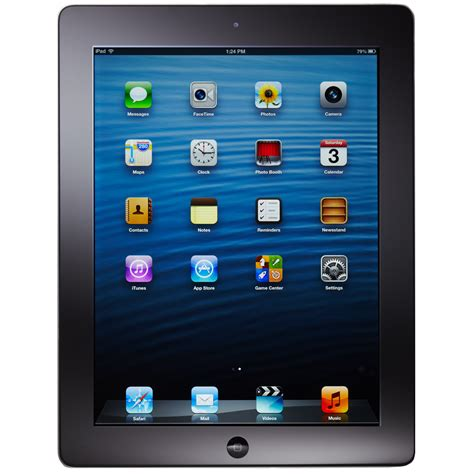 4 Retina 64gb apple 4th generation retina display 9 7 wifi 64gb black ebay