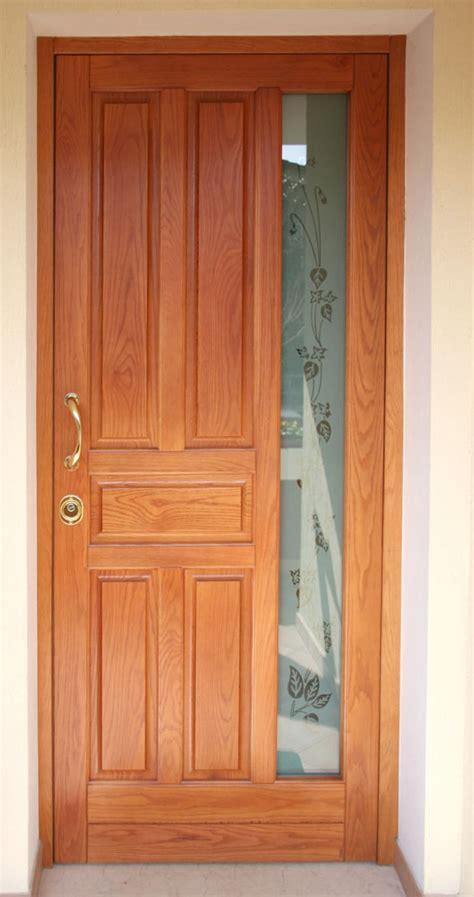 porta da esterno con vetro modena artigiano falegname produzione porte blindate in