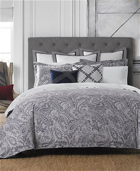 tommy hilfiger bedding outlet tommy hilfiger josephine paisley bedding collection bedding collections bed bath