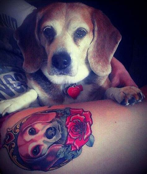 beagle tattoo the 15 coolest beagle designs in the world