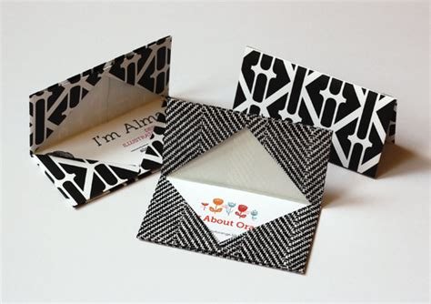 Origami Business Card Holder - tags origami try it like it create eat read