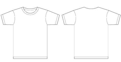 Basic Template Vector T Shirt Templates Pinterest Template And File Format T Shirt Template Maker