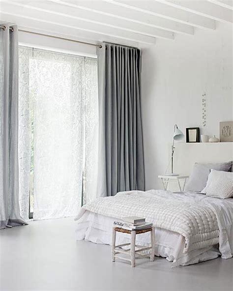 Grey And White Bedroom Curtains Ideas Mooie Slaapkamer Gordijneninterieur Inrichting Interieur Inrichting