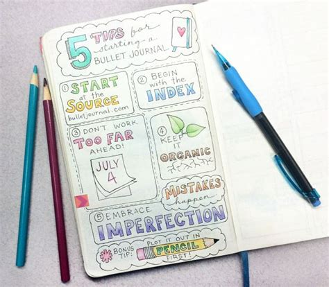 bullet journal tips bullet journal tips