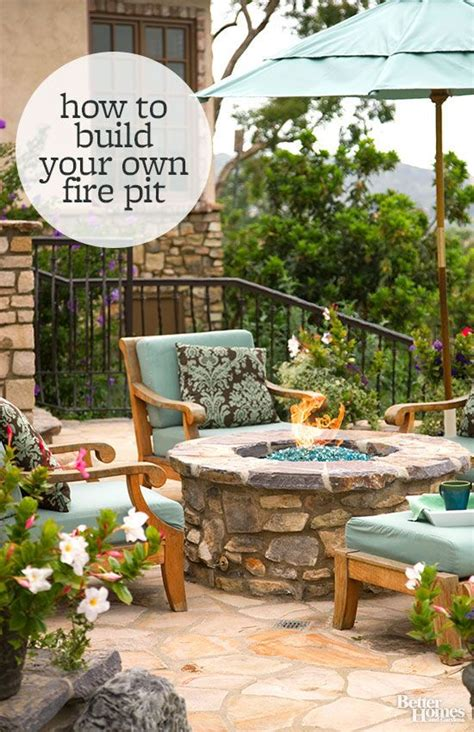 how to make an outdoor firepit how to build a pit