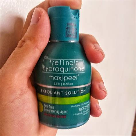 Toner Maxi Peel maxi peel exfoliant review top and lifestyle on makeup skincare fitness tech