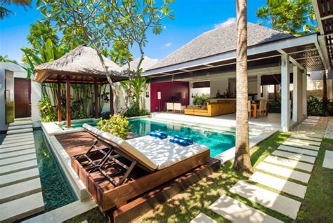 1 bedroom pool villa bali contemporary pool villas chandra bali villas seminyak