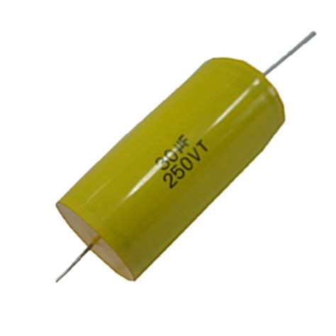 metalized polyester capacitor capacitors