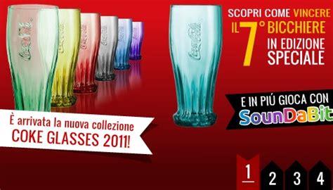 bicchieri coca cola con l applicazione ufficiale di mcdonalds si vincono i 7