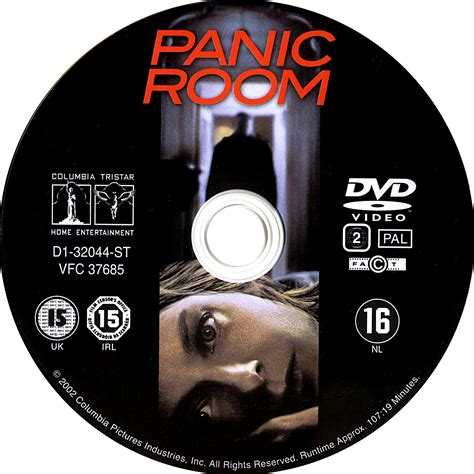 Room Dvd by Panic Room 2002 Ws R2 Dvd Cd Label Dvd Cover Front Cover