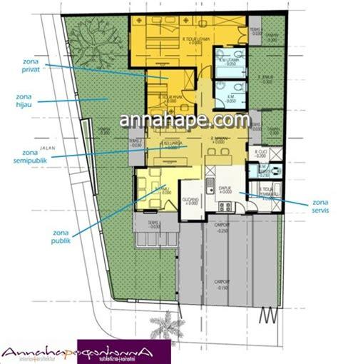 denah layout rumah contoh denah rumah layout annahape studio desain rumah