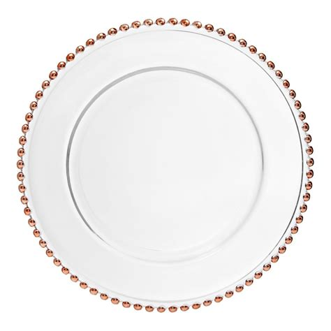 gold beaded glass charger plates 187 gold beaded glass charger plate