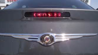 Chrysler 300 Decals 3rd Brake Light Decal Sticker Fits 2008 2009 2010