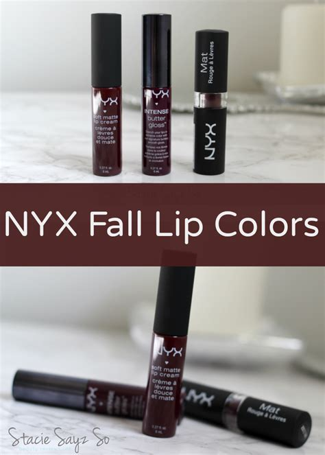 best nyx lip colors 3 must nyx fall lip colors copenhagen black cherry