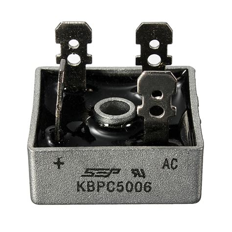 power diode bridge rectifier model 50a 600v kbpc5006 power bridge rectifier metal diode bridge ebay
