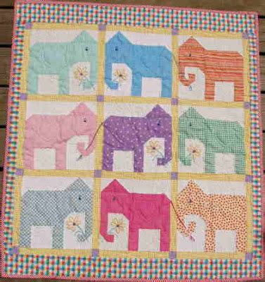 Elephant Quilt Patterns by Quilting Cactus Needle Quilts Fabric And More