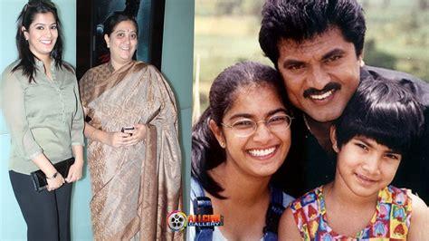 actor actress parents actress varalaxmi sarathkumar family photos father