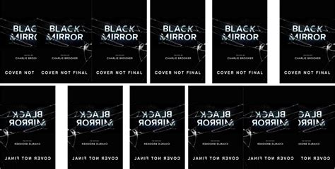 black mirror book there s gonna be a black mirror book