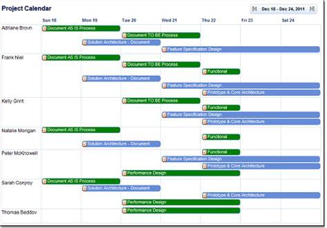 Calendar Management Features Calendar Management In Zilicuspm Project