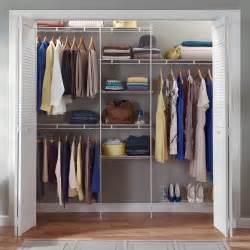 Wire Closet Organizer Systems Closetmaid 5 8 Ft Closet Organizer With Shoe Rack Wire
