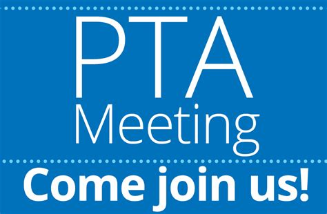 Pta Meeting Clipart pta general meeting this thursday genesee hill pta