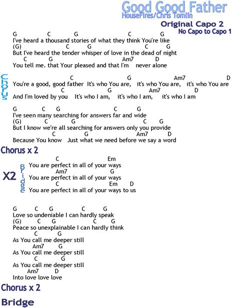 Our Father Guitar Chords