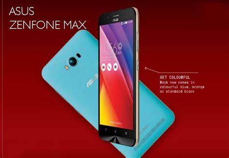 Dan Spek Hp Asus Zenfone Max asus zenfone max spesifikasi kelebihan dan kekurangan alan zido tempatnya informasi