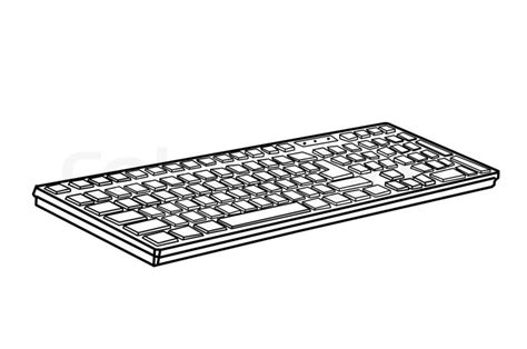 Drawing Keyboard by Drawing Keyboard Stock Photo Colourbox