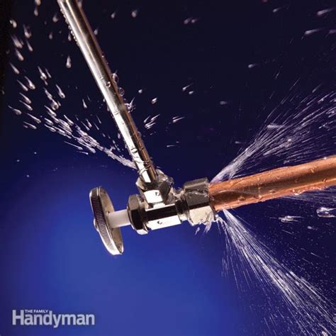 Stop Plumbing Leaks by Stop Leaks In Plumbing Joints The Family Handyman