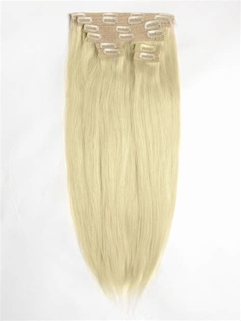 white hair extensions clip in white hair extensions hair weave