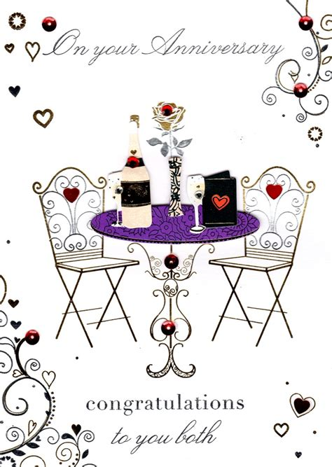 Wedding Anniversary Congratulations Cards by Congratulations On Your Anniversary Greeting Card Cards