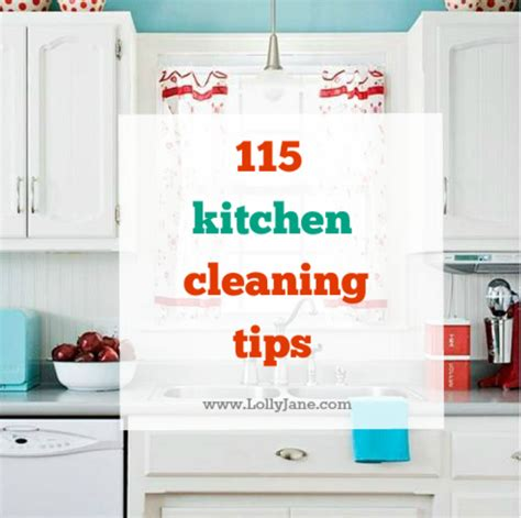 Cleaning Tips For Kitchen | 115 kitchen cleaning tips