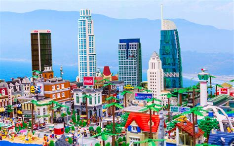 Southwest Architecture by This Massive Lego Version Of Los Angeles Is Insanity Los