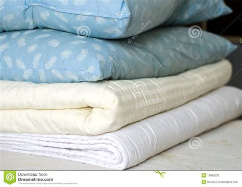 Pillows And Throws by Blankets And Feather Pillows Stock Photos Image 19982033