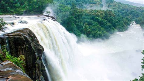 athirappilly waterfall  kerala india hd wallpapers