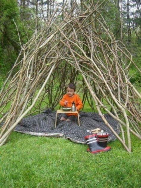 backyard forts kids outdoor fort active kids pinterest
