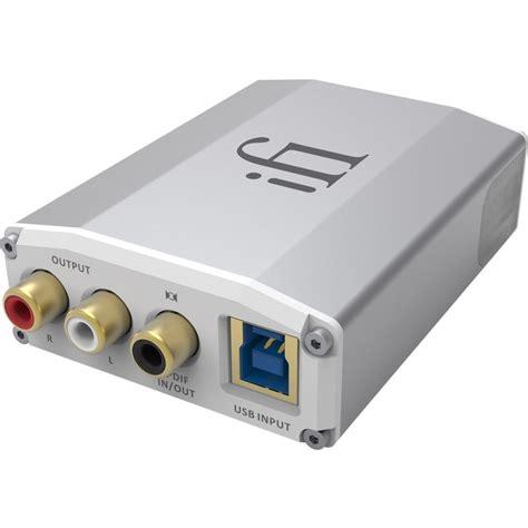 Usb Dac Ifi Audio Ione Usb Dac Bluetooth Aptx Dsd Dxd 24bit 384khz Audiophonics