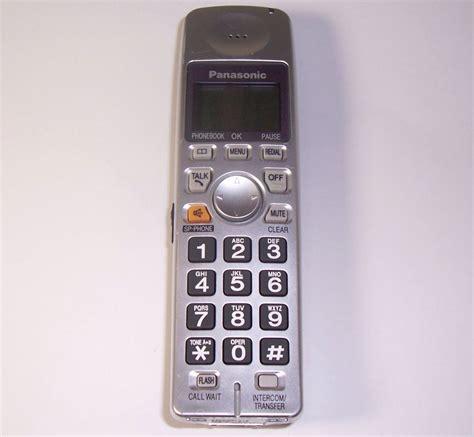 Sale Panasonic Phone Kx Ts845nd panasonic kx tga101s handset kx tg1035s pqlv30053zas cordless phone dect6 0 for sale item