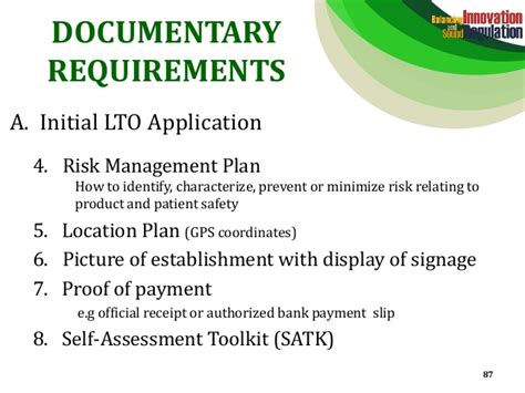 Commitment Letter For Risk Management Plan Fda Administrative Order No 2014 0034