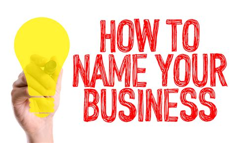 how to pick a name for your business how to choose a name for your business marketing from within