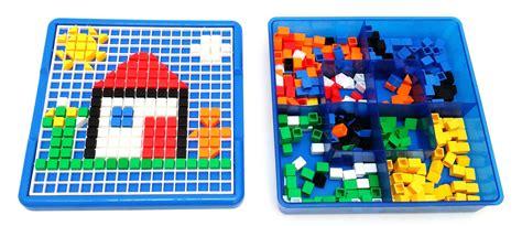 Creative Mosaic 1 Viahart Creative Mosaic Pegboard Jigsaw Puzzle Block