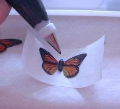 butterfly cookies butterfly cakes wafer paper tutorial learn how to make a beautiful delicate white wafer paper