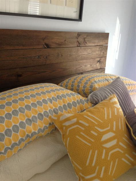Wood Headboards Diy 17 Of 2017 S Best Yellow Headboard Ideas On Pinterest Yellow Bed Yellow Walls Bedroom And Diy