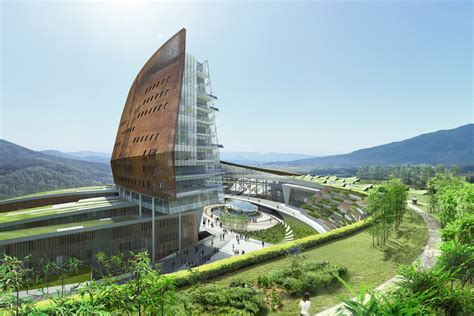 South Korean Architecture with Modern Architecture In South Korea Hydro Nuclear Power Headquarters By H Architecture