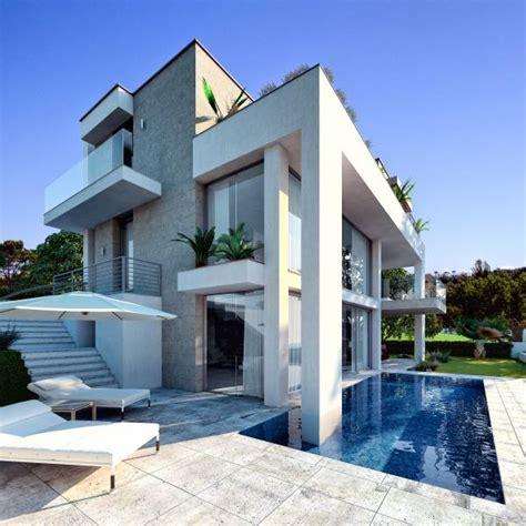 Ville Moderne Con Piscina villa moderna con piscina