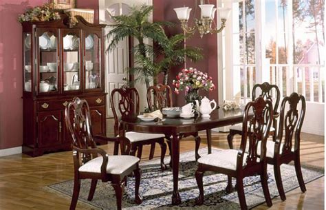 cherry dining room set furniturevictorian traditional cherry dining