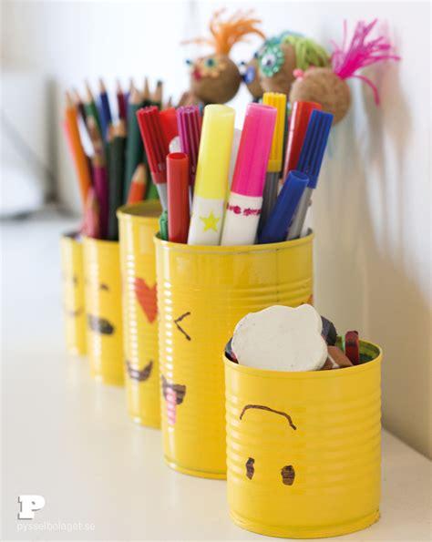 pencil holder craft ideas for make emoji tin can pencil holders craft diy