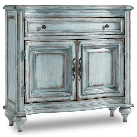 living room chest hooker furniture living room accents 1 drawer 2 door chest