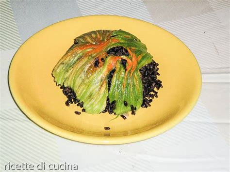 cucinare riso nero sformato di riso nero venere ricette di cucina
